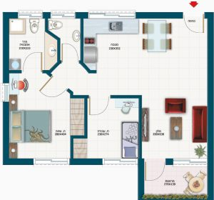 תכנית דירת נורית - אחוזת נווה חוף, דיור מוגן איכותי
