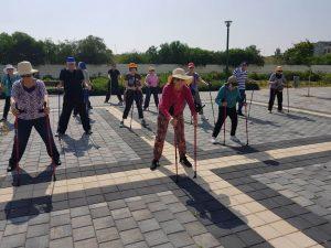 פעילות גופנית - נהנים מדיור מוגן איכותי