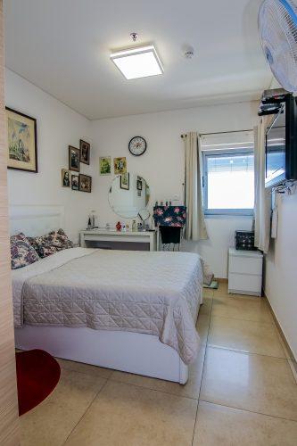 חדר שינה דירת יסמין - אחוזת נווה חוף, דיור מוגן איכותי